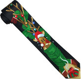 Asstd National Brand Hallmark Vertical Reindeer Sweater Tie