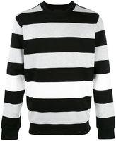 Diesel Black Gold striped jumper
