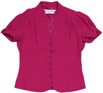 Christian Dior Pink Jacket for Women Vintage