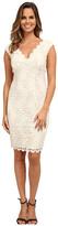 rsvp Short Venice Lace V-Neck Dress
