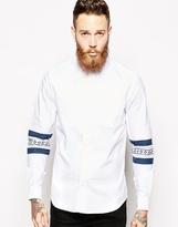 Asos Shirt In Long Sleeve With Silverlake Print
