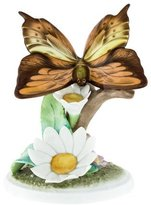 Herend Butterfly and Daisy Figurine