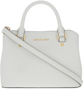 MICHAEL Michael Kors Savannah small Saffiano leather satchel