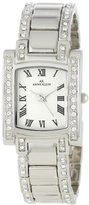 Anne Klein Women's 10-7127SVSV Stainless Steel Swarovski Crystal-Accented Watch