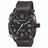 Briston Watches Clubmaster Classic Acetate Alpine Hunter Three Hand Watch