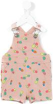 Stella McCartney pineapples dungarees - kids - Cotton - 6 mth