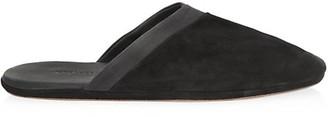 John Lobb Suede Slippers