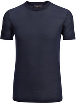 Light Merinos Tee In Navy