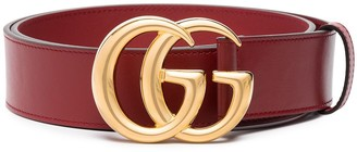 Gucci GG logo buckle belt