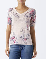 Monsoon Jennifer Print Jumper