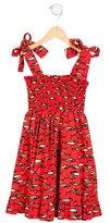 Stella Jean Girls' Assenzio Fish Print Dress w/ Tags