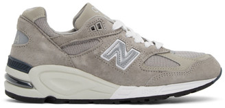 New Balance Grey Made In US 990v2 Sneakers
