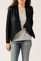 BB Dakota Wyden Leather Peplum Jacket