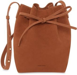 Mansur Gavriel Mini Bucket Bag - Rust