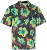 Prada hibiscus print shirt
