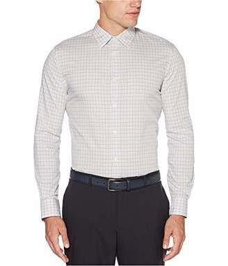 Perry Ellis Men's Long Sleeve Multi Color Check Shirt