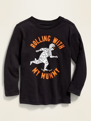 Old Navy Halloween Graphic Long-Sleeve Tee for Toddler Boys