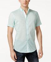 INC International Concepts Men's Micro-Geometric Print Shirt, Created for Macy's