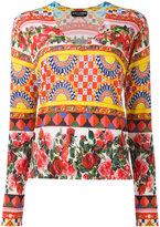 Dolce & Gabbana Mambo print jumper - women - Silk - 48
