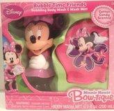 Disney Minnie Mouse Bow-tique Bubble Time Friends Body Wash & Wash Mitt