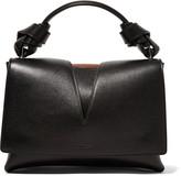 Jil Sander Cutout leather tote