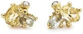 Ruth Tomlinson Citrine, Aquamarine and Pearl Stud Earrings