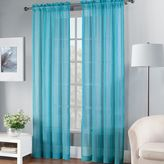 Fiesta Sheer Window Curtain Panel