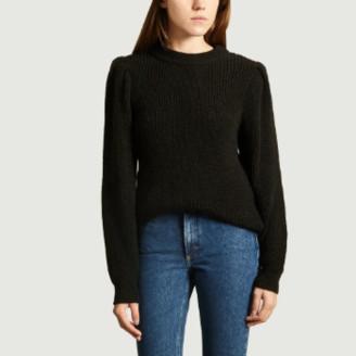 IRO Paris Paris - Black Acrylic and Alpaca Hobson Sweater - s | black | Acrylic / Alpaca - Black/Black