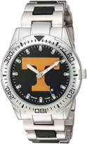 Game Time Men's COL-HH-TEN Heavy Hitter Analog Display Japanese Quartz Silver Watch