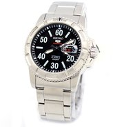 Seiko Men's 5 Automatic SRP213K Silver Stainless-Steel Automatic Watch
