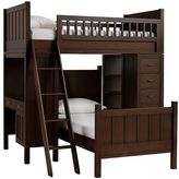 Pottery Barn Kids Camp Bunk System with Twin Bed