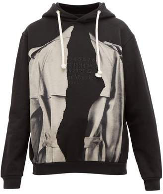 Maison Margiela Mutiny Oversized Cotton Sweatshirt - Mens - Black