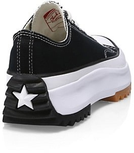 Converse Unisex Foundation Run Star Hike Ox Low-Top Platform Sneakers