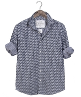 Frank And Eileen Mens Luke Limited Edition Chambray Floral Button Down Shirt