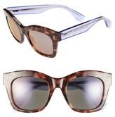 Fendi 50mm Retro Sunglasses