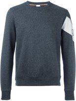Moncler Gamme Bleu contrasting armband sweatshirt - men - Cotton - XL