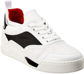 Christian Louboutin Ac Aurelien Leather & Neoprene Sneaker