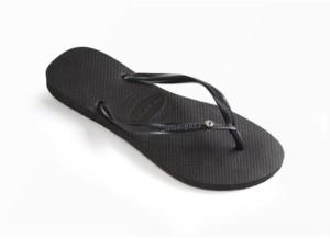 Havaianas Women's Slim Crystal Glamour Flip Flops Women's Shoes
