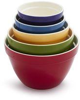 Sur La Table Ceramic Mixing Bowls, Set of 5