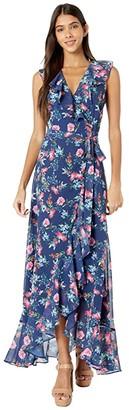 Yumi Kim Carla Maxi Dress (Mulberry Navy) Women's Dress