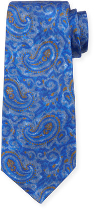 Kiton Antique Paisley Silk Tie