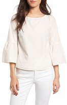 Madewell Women's Bell Sleeve Cotton Top