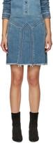 Chloé Blue Denim Miniskirt