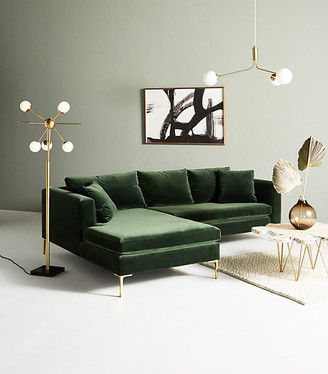 Anthropologie Petite Edlyn Sectional By in Assorted Size ALL