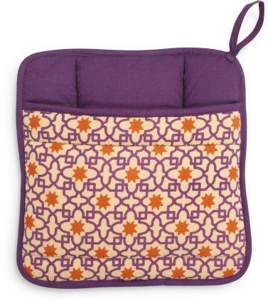 Sur La Table Purple Mosaic Vintage-Inspired Potholder