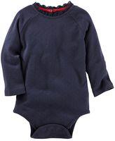 Osh Kosh Baby Girl Pointelle Lace Bodysuit