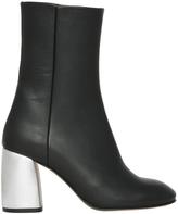 Miista Adrianne Black/Silver Boot