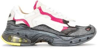 Premiata Sharky panelled chunky sneakers