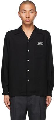 Wacko Maria Black 50s Type-3 Shirt