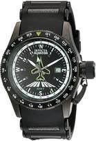 Invicta Men's Aviator Flight GMT Dial Polyurethane Watch 1755
